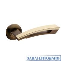 Ручки дверные H-0599-A-CF/GM Apecs Premier