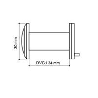 Глазок дверной DVG1 16/35-60 CP Armadillo