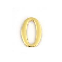 Цифра дверная Apecs DN-01-0-Z-G (золото)