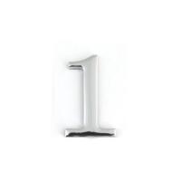Цифра дверная Apecs DN-01-1-Z-CR (хром)