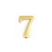 Цифра дверная Apecs DN-01-7-Z-G (золото)