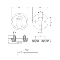 Броненакладка APECS Protector Special-CR (хром)