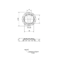 Накладки на цилиндр APECS DP-C-24-AN (антик)