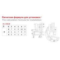Мебельная петля H600B02/0112 Boyard