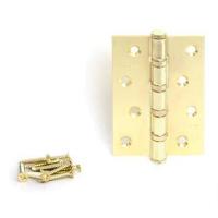 Петля универсальная APECS 100*70-B4-GM (мат. золото)