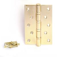 Петля универсальная APECS 120*80-B4-G (золото)