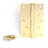 Петля универсальная APECS 120*80-B4-GM (мат. золото)