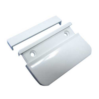 Ручка балконная пластиковая (белая)
