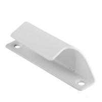 Ручка балконная стальная (белая)