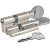 Цилиндровый механизм Kale 164 BM 90мм (45-10-35) никель