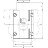 Замок накладной Барьер-3СР