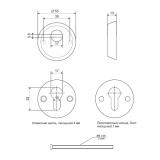 Броненакладка APECS Protector Basic-G (золото)