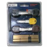 Цилиндровый механизм Master Lock 90мм (35+55) латунь 5+1+5