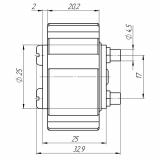 Цилиндровый механизм ЦМС-9 для ЗН Барьер