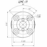 Цилиндровый механизм ЦМС-11 для ЗН Барьер