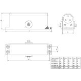 Доводчик Apecs DC-20.2/0850/045-A1-BR