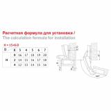 Мебельная петля H600A02/0112 Boyard