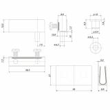 Мебельная петля HG001/Ni Boyard