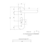 Ручки на планке Avers HP-72.1303-BL (SPRING)