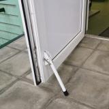 Стопор дверной (ножка) белый средний