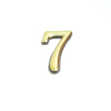 Цифра дверная 7 (золото)