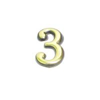 Цифра дверная 3 (золото)