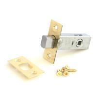 Задвижка дверная Apecs L-0126-G (золото)